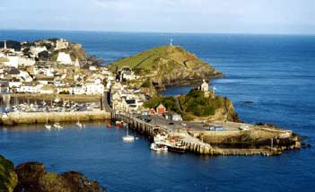 The harbour at Ilfracombe